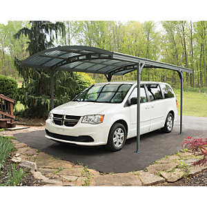 Palram Carport Atlas 5000 Grey Bronze 4945mm x 2390mm x 2875mm