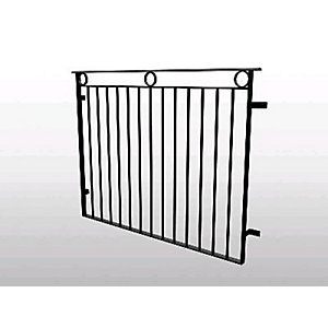 Catnic Juliet Balcony Brecon Galvanised JBBREP
