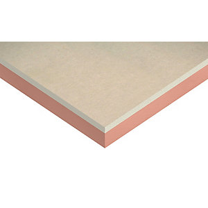 Kingspan Kooltherm K17 Insulated Plasterboard 12.5mm Facing 2400mm x 1200mm x 80mm (2.88m²/Sheet)