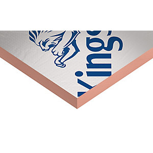 Kingspan Kooltherm K8 Phenolic Cavity Insulation Board 1200mm x 450mm x 75mm (0.54m²/Sheet)