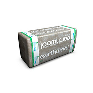 Knauf Earthwool Flexible Slab 1200mm x 600mm x 140mm (2.16m²/Pack)