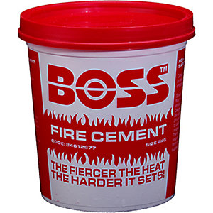 BOSS™ 2Kg Tub Fire Cement