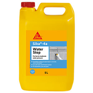 Sika 4A Waterstop Leak Sealing Admixture 5L