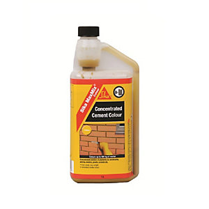 Sika Maxmix Cement Colour Yellow 1L