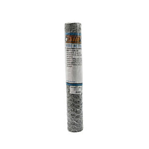 4Trade Galvanised Wire Netting 10m x 600mm x 25mm