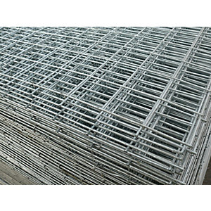 Galv Welded Mesh 2 in   x 2 in  10g 8 x 4 Sheet