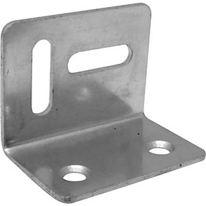 Galvanised Angle Cleat 38mm x 38mm x 30mm x 5mm