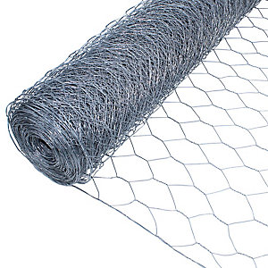 Galvanised Wire Netting Roll 50mm x 900mm x 25m