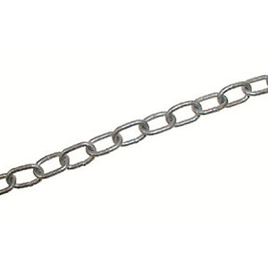 4Trade Welded Link Chain Hot Dip Galvanised 5 x 35mm