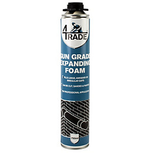 4TRADE Gun Expanding Foam Filler 750ml