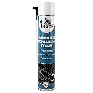 4Trade Expanding Handheld Foam Filler 750ml