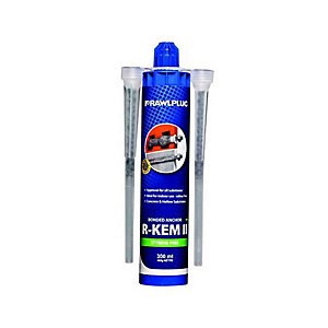 R-KEM II 300ml Polyester Resin Cartridge + Nozzle R-Kem