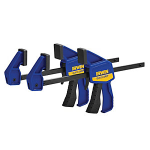 Irwin Quick-grip Mini Bar Clamp Twin Pack 150mm (6in) Q/G5462QCN