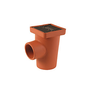 Hepworth SuperSleve HouseDrain Square Gully 100mm SG2/1