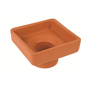 Hepworth Vitrified Clay Dish Top 100mm Diameter Outlet RDR2