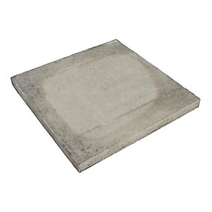 BSS Pressed Concrete Slab Natural 450mm x 450mm x 50mm Pack of 40