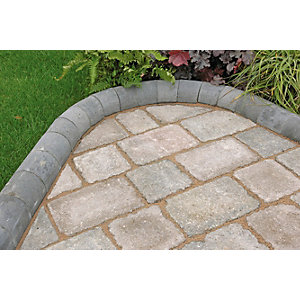 Marshalls Driveline 4 in 1 Charcoal Kerb 100mm x 100mm x 200mm