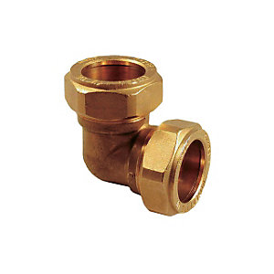 Compression Equal Elbow Fitting 15mm