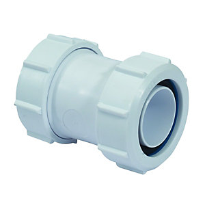 McAlpine Z28M Straight Connector 50mm