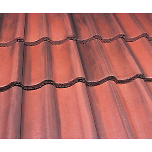 Marley Mendip Roofing Tile Old English Dark Red