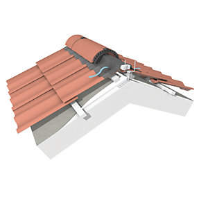 Marley Universal Roofing Tile Ridgefast System 6m Pack
