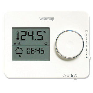 Warmup Tempo Thermostat Porcelain White