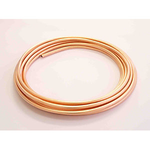 Wednesbury Copper Plain Coils 10mm x 25m