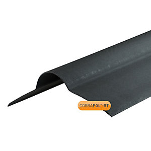 Corrapol Black Corrugated Ridge 930mm