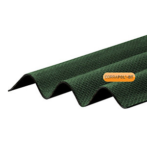 Corrapol Green Corrugated Sh 930 x 2000mm