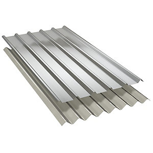 GRP Weather Sheet Rooflight 2440mm Long SAB3 CE24E Euroclad MW5R