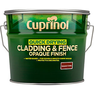 Cuprinol Quick Drying Cladding & Fence Woodstain