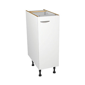 Dakota Matt White Kitchen Base Unit 300mm
