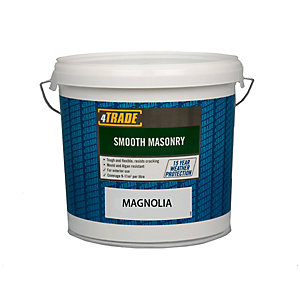 4Trade Smooth Masonary Magnolia Paint - 10L