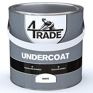 4Trade Undercoat Primer White Paint - 2.5L