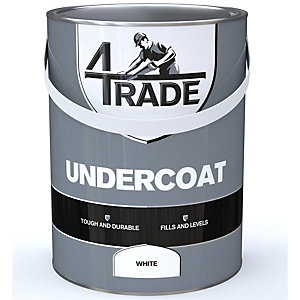 4Trade Undercoat Primer White Paint - 5L