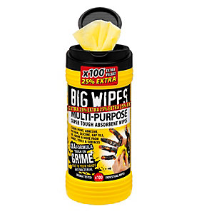 Big Wipes 4X4 Multipurpose Wipes Box 100
