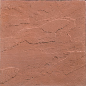 Marshalls Pendle Red Paving Slab 450mm x 450mm x 32mm