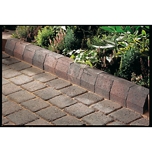 Marshalls Driveline 4 in      1 Radial Kerb 100 x 100 x 200mm Brindle