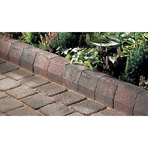 Marshalls Driveline 4 in      1 Return Kerb 100 x 100 x 200mm Brindle