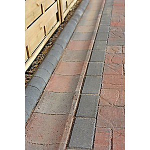 Marshalls Driveline Channel Concrete Brindle Block Paving Slab 65mm x 200mm x 200mm