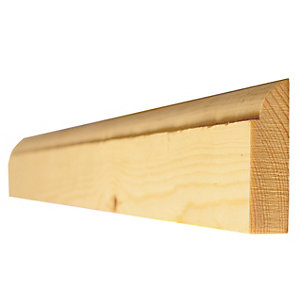 Ovolo Door Stop Redwood Tp Best Grade 16 x 38mm