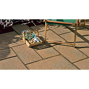 Marshalls Firedstone Autumn Paving Patio Pack 5m2 CF4002900