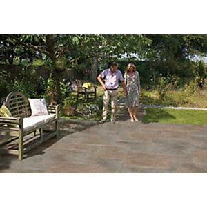 Marshalls Symphony Vitrified Paving - Project Pack Sigma Copper 16.89m2