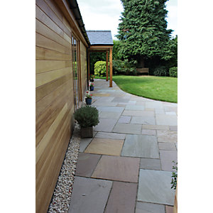 Natural Paving Cragstone Meadow Garden Paving Project Pack 18.9m²