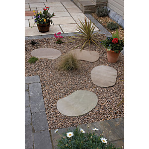 Natural Paving Lakeland Stepping Stone 350mm x 500mm x 24mm (900m²)