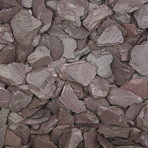 Plum Slate Chippings 40mm Bulk Bag