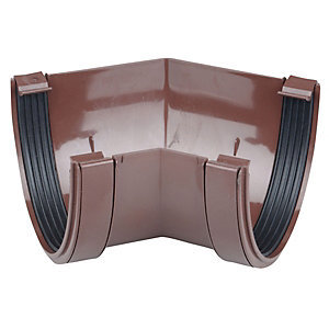 Osma DeepLine 9T904 Gutter Angle 45° 113mm Brown