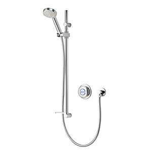 Aqualisa Quartz Gravity Pumped Concealed Digital Shower with Adjustable Head QZD.A2.BV.14