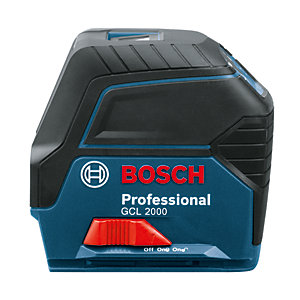 Bosch GCL 2000 Laser Level 15M Range - IP54 Rated
