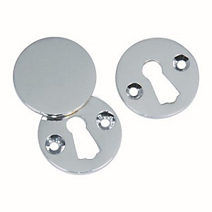 4Trade Open & Covered Escutcheon Chrome